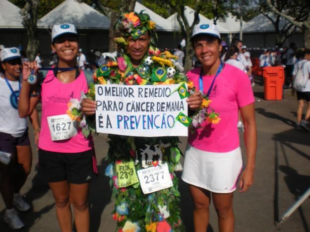 Corrida contra o câncer de mama
