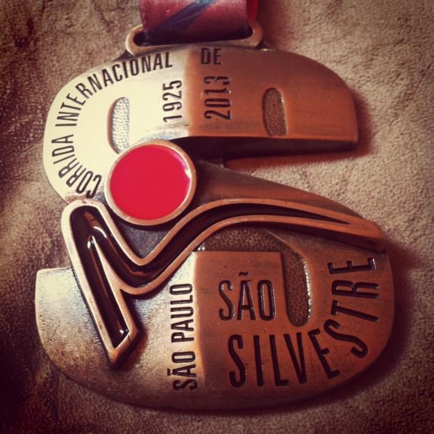 Medalha linda e pesada!