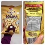 Testamos: Canjica de milho Okoshi e Salgadinho de arroz integral Rozen