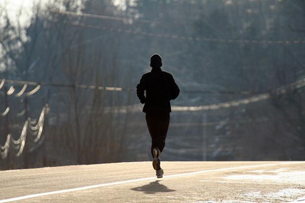 running-alone