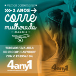 #2anosCM: Vai ter aula de Cross For Any Body