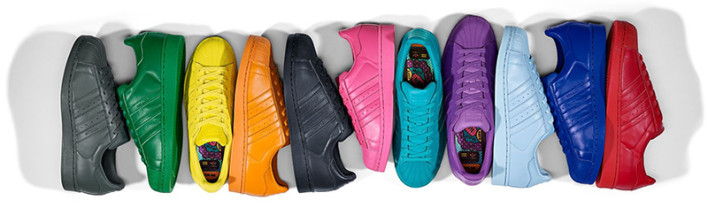 11 cores do Supercolor (Adidas)