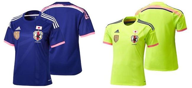 Camisa oficial da seleção do Japão na Copa do Mundo Feminina (Adidas)