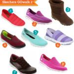 Skechers GOwalk: a gente tem que se preocupar com os tênis de caminhada também, viu?