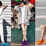 Supercolor: looks casuais com o tênis-sensação da Adidas