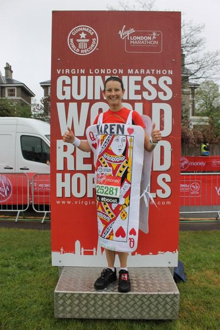 Karen Irons-McLean - Fastest Marathon As Playing Card_tcm25-377639