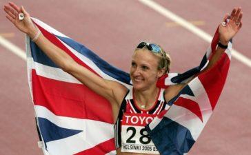 Paula Radcliffe no Mundial de Helsinki 2005