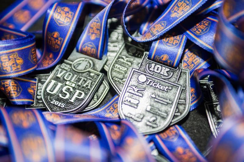 Medalhas da 52a Volta da USP (Foto: Sua Corrida)