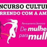 Concurso Cultural: Correndo com a amiga!