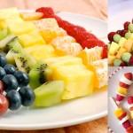 Receitas: Lanchinhos saudáveis com frutas