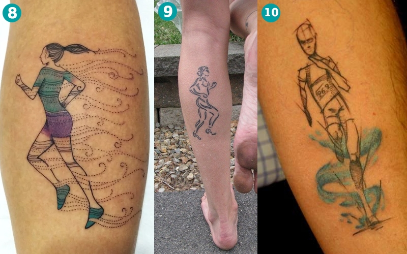 Tatuagens De Corrida Parte Ii Corre Mulherada