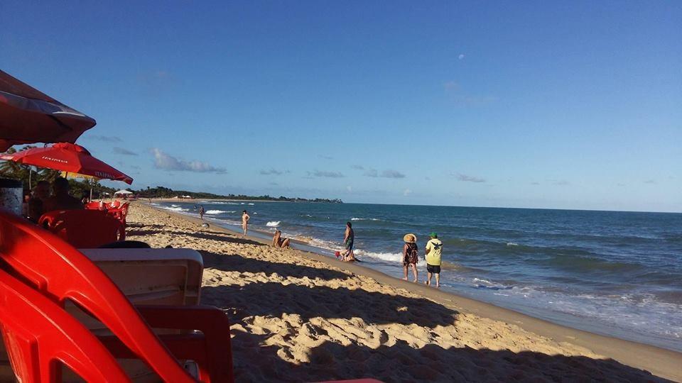 Praia de Taperapuan (Foto da Ju)