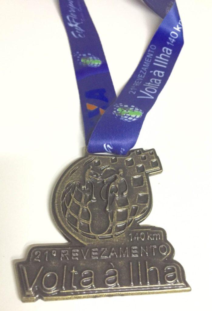 Olha a medalha, que linda! (Foto da Aninha)