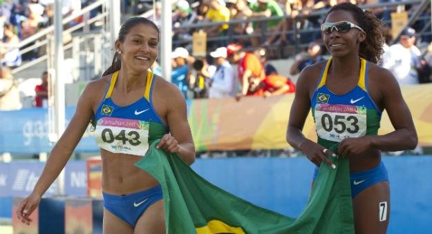Ana Cláudia Lemos e Rosangela Santos estão entre as nossas velocistas.