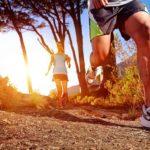 Incentive seu pai a correr