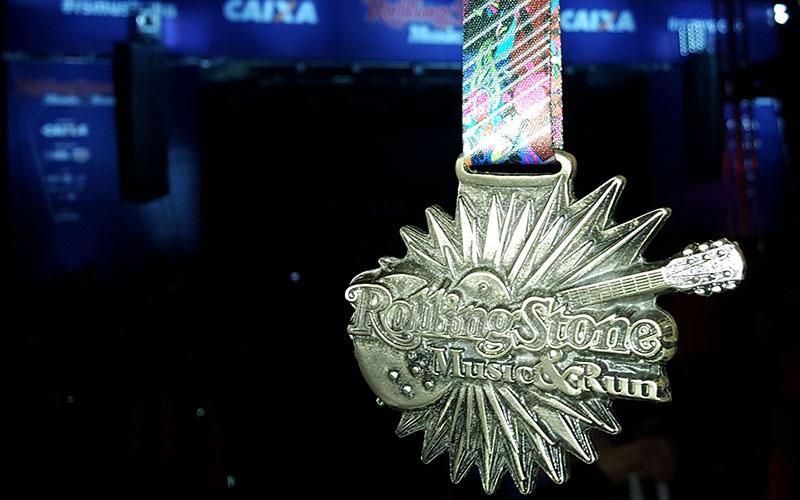 A medalha também estava linda!