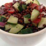 Receita: Salada de Sorgo