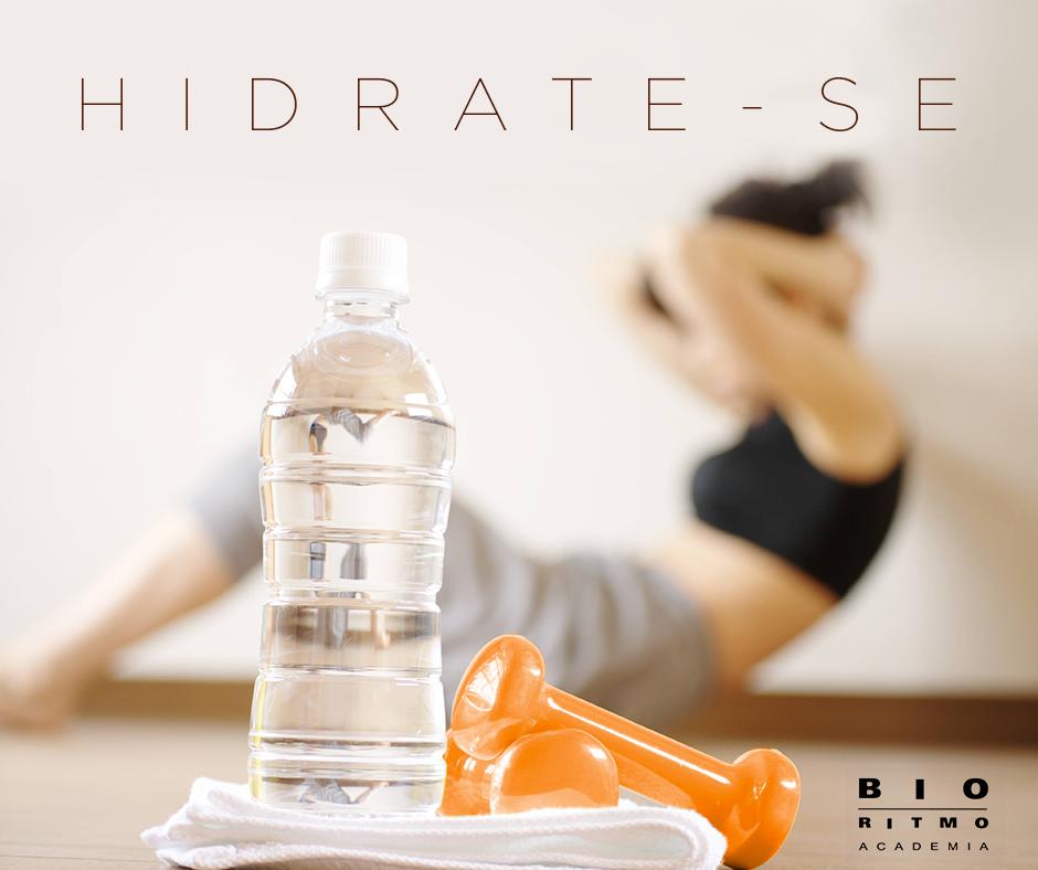 hidrate-se