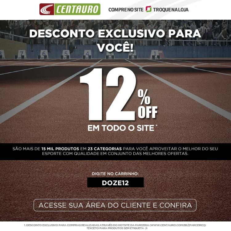 12% off na Centauro